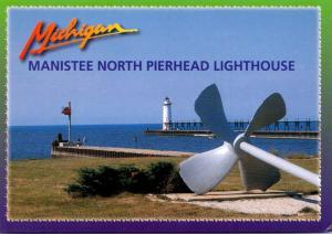 Michigan Mansitee North Pierhead Ligthouse