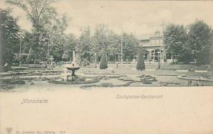 Stadtgarten-Restaurant, Mannheim, Germany, 1900-1910s