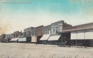 MEMPHIS. Missouri , 1912 ; West side of Square