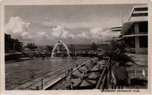 CPA AK SINGAPORE REAL PHOTO Swimming Club (a1446)