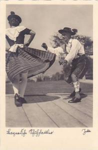 RP; German dancers performing, 10-20s