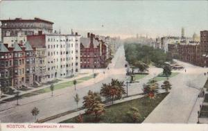 Massachusetts Boston Commonwealth Avenue