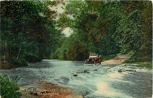 D/B Creek Ford in Rock Creek Park Washington DC