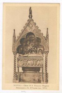 Chiesa Di S. Domenico Maggiore, Monumento A G. D'Aquino (Sec. XIV), Napoli (C...