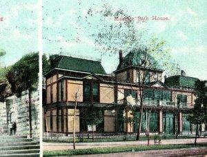 C. 1905-08 Maurice Bath House, The Fountain Head, Hot Springs Ark. Postcard P171