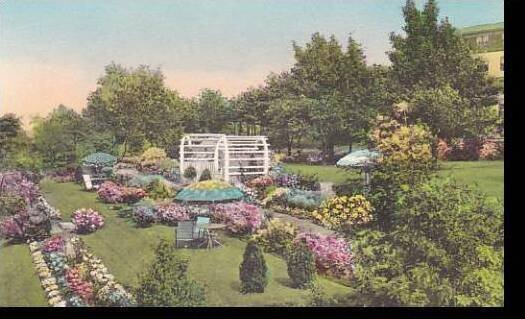 Maine Ogunquit Terrace Garden And Garden Of The Pines The Lookout Hotel Alber...