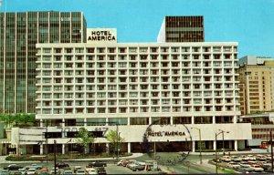 Connecticut Hartford Hotel America Constitution Plaza 1969
