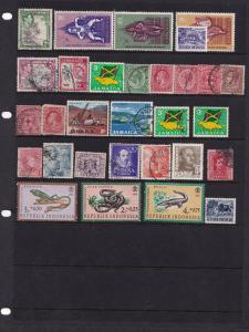 Nigeria Togo Indonesia African Jamaica Animal Elephant Stamp Bundle