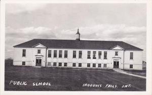 RP: Public School , IROQUAIS FALLS , Ontario, Canada , 30-40s