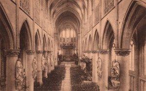 Interieur de la Cathedrale St Rombaut,Malines,Belgium BIN