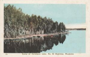 Scene at Oxtongue Lake on Highway #60 - Muskoka, Ontario, Canada - WB