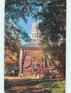 Unused Pre-1980 CHURCH SCENE Alexandria Virginia VA p3986