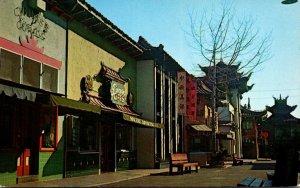 California Los Angeles New Chinatown