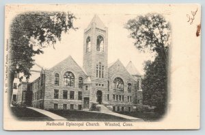 Winsted Connecticut~Methodist Episcopal Church~Stained Glass Windows~1905