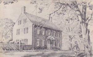 The John Vogler House in Old Salem, Winston-Salem, North Carolina,  PU-1953