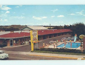 Pre-1980 LODGE MOTEL SCENE Colorado Springs Colorado CO AE0618