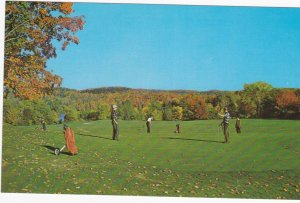 Golf Course, Larrimac Golf Course , Gatineau Valley , Quebec , Canada , 50-60s