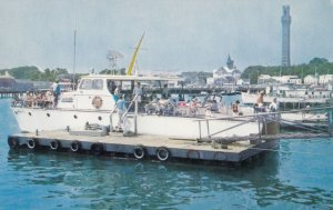 Provincetown , CAPE COD , Mass. , 1950-60s ; Fishing Party Boats