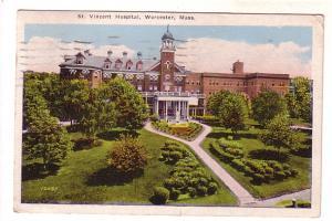 Vincent Hospital, Worcester,  Massachusetts, JI Williams
