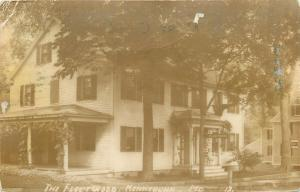 Kennebunk Maine~The Fleetwood Inn~1913 Postcard RPPC