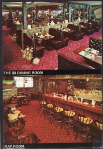 NH MANCHESTER Interior View The 88 Restaurant 88 Market Street Cont'l 1980 1990