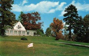 Postcard Club House Hendersonville Country Club North Carolina