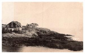 Maine  Bailey  Island ,  Houses over looking  bay
