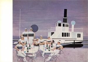 Art Postcard, Hommage a Debussy by Jan Balet #237