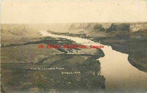 ID, Twin Falls, Idaho, RPPC, Snake River, Blue Lakes Farm, 1913 PM, Bisbee Photo
