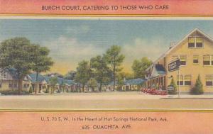 Arkansas Hot Springs Burch Court