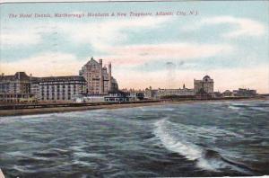 New Jersey Atlantic City The Hotel Dennis Marlborough Blenheim & New Traymore...