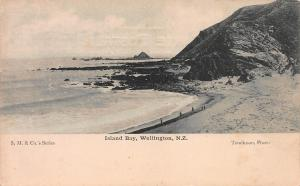 Island Bay, Wellington, New Zealand, Early Postcard, Unused