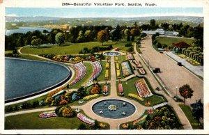 Washington Seattle Beautiful Volunteer Park 1934
