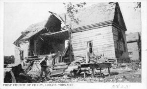 Lorain Ohio~First Church of Christ~Where We Have Membership~June 28 1924 Tornado