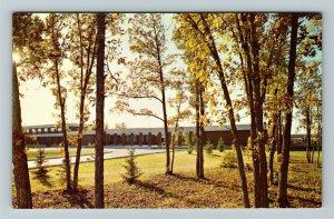 Manitoba- Canada, St Paul's High School, Jesuit Prep School, Chrome Postcard