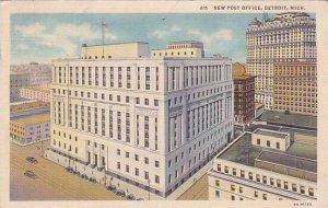 Michigan Detroit New Post Office 1936