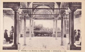 La Kouba Du Belvedere - Interieur, Tunis, Tunisia, 1910-1920s