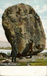 ME - Camden. Balance Rock