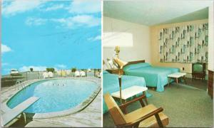 Cataract Motel Niagara Falls Ontario ON Vintage Postcard E15 *As Is