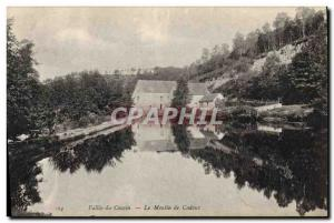 Postcard Old water mill Vallee du Cousin The mill Cadoux