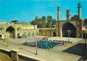 Tehran Iran Masjid Shah postcard