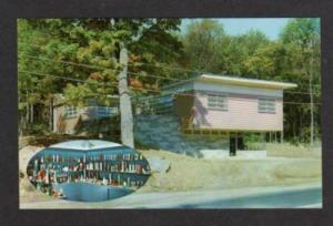 CT View of the Candle Shop RIDGEFIELD CONN Postcard PC Connecticut
