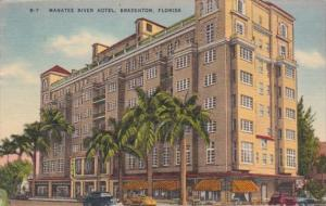 Florida Badenton The Manatee River Hotel 1952