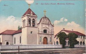 California Monterer San Carlos Church