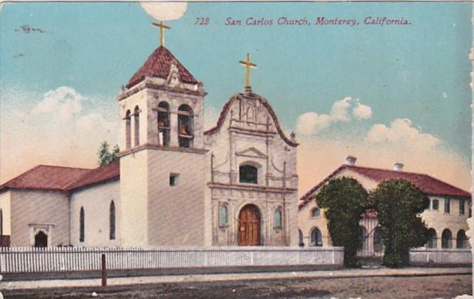California Monterer San Carlos Church