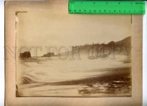 171128 MADEIRA Storm Our Ship Vintage RARE REAL PHOTO