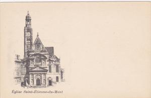 Eglise Saint-Etienne-Du-Mont, PARIS, France, 1900-1910s