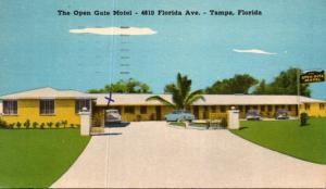 Florida Tampa The Open Gate Motel 1951