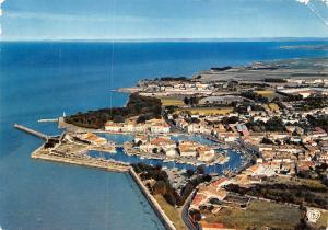 France Ile de Re Saint Martin Vue generale du Port Harbour Boats
