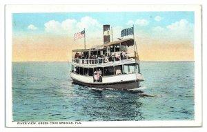 1929 River View, Green Cove Springs, FL Postcard *6E10
